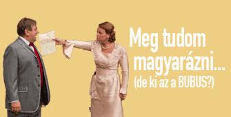 Vaszary Gábor: Meg tudom magyarázni….(De ki az a Bubus?!)